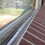 Aluminum window damage